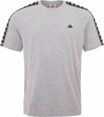 Kappa Ilyas T-Shirt 309001-15-4101M, Mannen, Grijs, T-shirt, maat: M EU