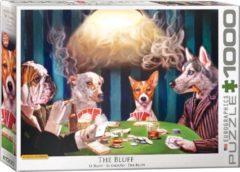 Eurographics The Bluff - Lucia Heffernan puzzel 1000 stukjes - Honden