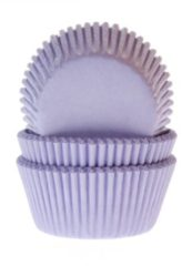 House of Marie Cupcake Cups Lila 50x33mm. 50st.