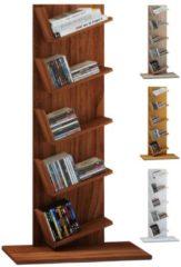 Regal Standregal Bücherregal Möbel Holz Büro Aufbewahrung Amiso VCM Sonoma-Eiche
