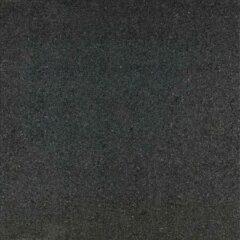 Bruine 3 stuks! Rubbertegel zwart 50x50x2.5 cm Gardenlux