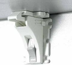 Witte Jippie's - Aanvulling Magneetsloten 4 Stuks - Wit