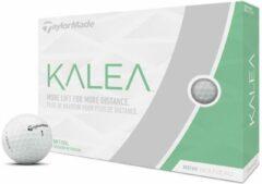 TaylorMade Kalea Ladies 2019 Golfballen - Dozijn / 12 stuks - Wit