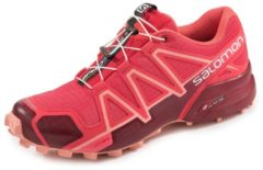 Speedcross 4 Outdoorschuh Salomon Rot