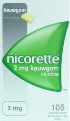 Nicorette Nicotinekauwgum Classic 2mg - 105 stuks