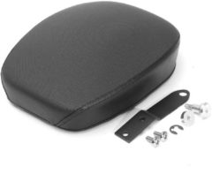 Motorcycle Rear Passenger Pillion Pad Seat Black For Harley Sportster XL1200 883