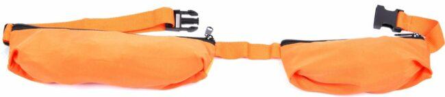 Afbeelding van Oranje Merkloos / Sans marque Hardlooptas, mobiele telefoontas, sport, loopgordel, heuptas, lopen riemtas, waterdichte heuptas loopband, joggen fitness riem, mobiele telefoon tas voor dames en heren, outdoor activiteiten joggen