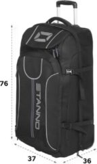 Zwarte Stanno Stanno Trolley Bag Large Sporttas Unisex - One Size