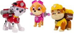 Spin Master PAW Patrol Actie Pups Marshall, Skye & Rubble - Speelset