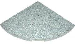 Grijze Outdoor Living Granietplaat voor zweefparasol 25kg