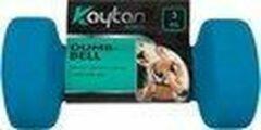 Blauwe Kaytan Dumbbell set van 2 x 3KG - Dumbbells - gewichten - Halterset - fitness - home workout
