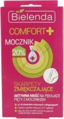Bielenda Comfort+ Sokken actieve zalf voor barstende hakken met ureum 1st