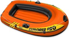 Oranje Intex Opblaasboot Explorer Pro 100 160x94x29 cm