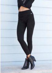 Zwarte LASCANA Legging, in suèdelook