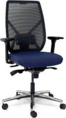 MR Actiflexx Bureaustoel Actiflexx Weave Arbo NPR 1813 | stof blauw - rug zwart | voetenkruis aluminium incl. multifunctionele wielen