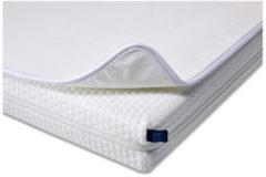 Witte Aerosleep BabyProtect matrasbeschermer 70x150 cm - Wit