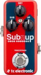 TC Electronic Sub 'N' Up Mini Octaver effectpedaal