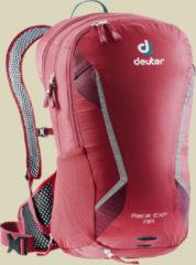 Deuter Race EXP Air Fahrradrucksack Volumen 14 L + 3 L cranberry-maron