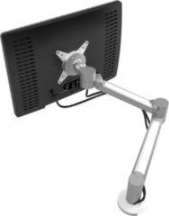 Zilveren Dataflex Viewlite plus monitorarm - bureau 622