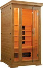 Rode Badstuber Basdstuber Punto infrarood sauna 90x90cm 1 persoons