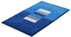 Bademattenserie Capricio Grund blau