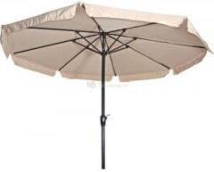 Lesliliving Parasol Libra ecru 3,5mtr niet knikbaar
