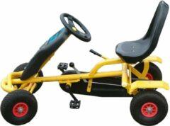 GO Cart Junior Go-Cart - Skelter- Vrijwiel - Geel