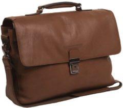 Black Friday Korting. Chesterfield Bags Businessbag Iowa Cognac nu voor € 236.55