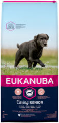 Eukanuba Caring Senior Large Breed Kip Hondenvoer - 15 kg