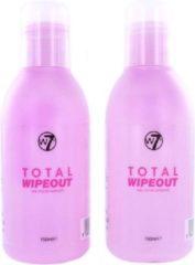 W7 Total Wipeout Nagellak Remover (2 Stuks)