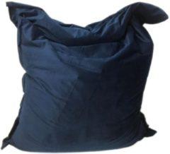 Marineblauwe Zitzak Royal Velvet Deep Navy maat 130x150 cm