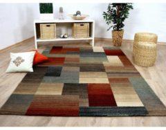 Pergamon Designer Teppich Sevilla Klassik Karo Beige... 80x150 cm