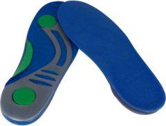 Blauwe Secutex Gel Inlegzolen - Maat 38 - blauw/groen/grijs Maat 38-39