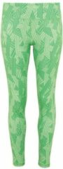 Groene Women's TriDri® performance crossline legging full-length, Kleur Green, Maat M