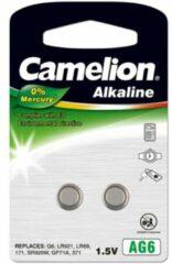 Camelion AG6 Knoopcel Alkaline (Alkali-mangaan) 25 mAh 1.5 V 2 stuks