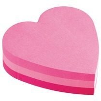 Post-It Adhesive Note - Removable, Self-adhesive - 70 mm x 70 mm - Pink (2007H)