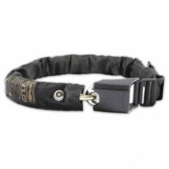 Zwarte Hiplok - Gold Wearable 10mm Chain Lock - Fietsslot maat 85 cm zwart