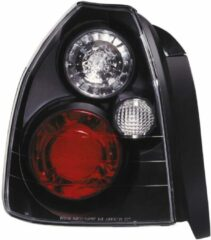 Universeel Set Achterlichten Honda Civic 3-deurs 1996-2001 - Zwart