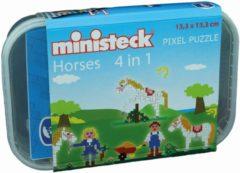 Ministeck Paardenstal Box, 510st. Afmeting artikel: 13,3 x 13,3 cm