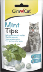 Gimcat Mint Tips - Kattensnack - Mint 40 g