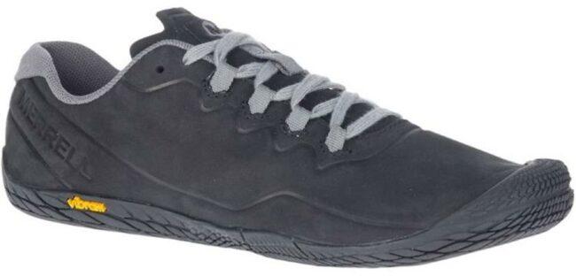 Afbeelding van Merrell Vapor Glove 3 Luna LTR Barefoot Schoen Dames Zwart/Middengrijs