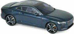 Donkerblauwe Norev Volvo Polestar I Hybrid 2020 Midnight Blue