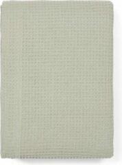 DAMMINGA Bedsprei - 1 persoonsbed - 160x250 - Plaid - Grijs