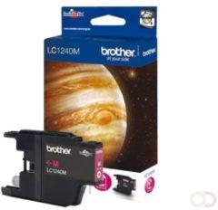 BROTHER LC-1240 inktcartridge magenta high capacity 600 pagina's 1-pack blister zonder alarm