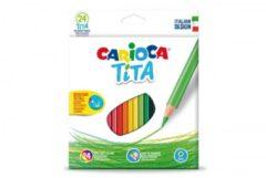 Pastelli Tita 24 pezzi Carioca