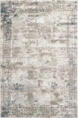 Beige Decor24-OB Modern laagpolig vloerkleed Opal - Oriental - 80x150 cm