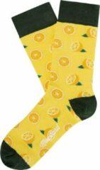Oranje Moustard london Moustard Londen sokken 36/40 citroenen
