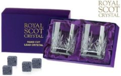 Transparante Royal Scot Crystal Presentationbox Highland de Luxe