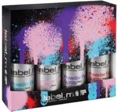 Label. M Label.m Color Makeover Set (Blauw 50 ml, Roze 50 ml, Paars 50 ml, Rood 50 ml)
