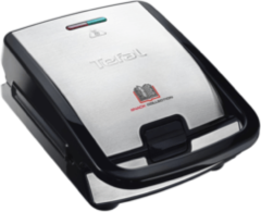 Roestvrijstalen Tefal SW854D Snack Collection Multisnack-apparaat - Contactgrill